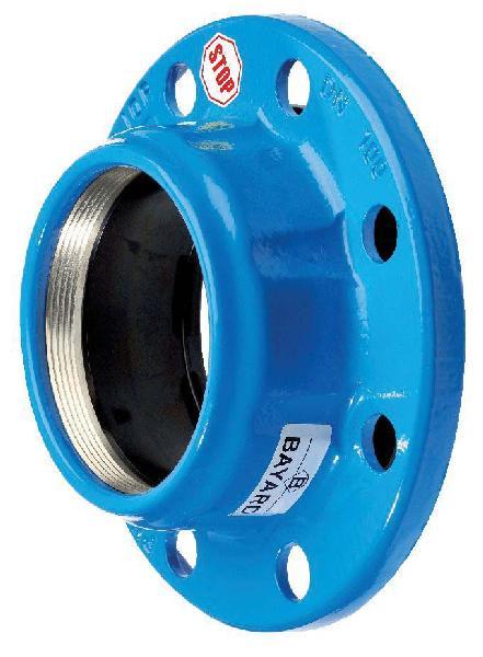 BRIDE FONTE MAJOR STOP DN200 POUR PVC-U/PE Ø225 ISO PN10-16
