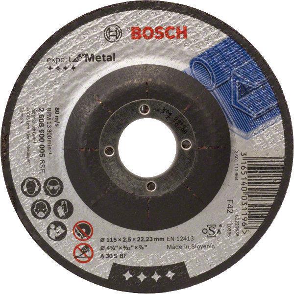 Disque à tronçonner métal Ø115mm