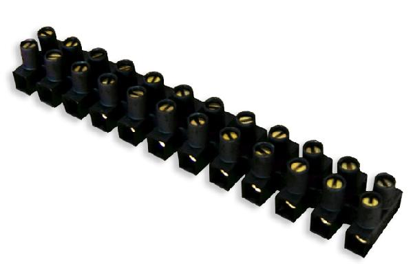 Barrette 6mm² noir