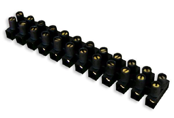 Barrette 16mm² noir