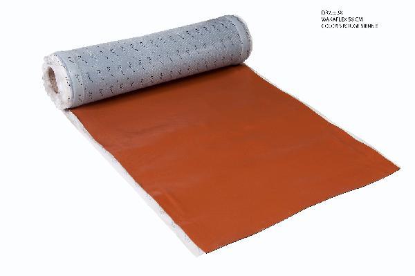 Bande étanchéité adhésive à froid WAKAFLEX rouge sienne 56cmx5m