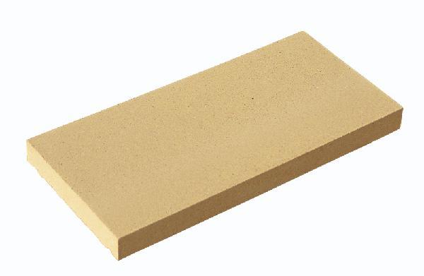 Couvertine plate 49x28cm Ep.4cm ton pierre