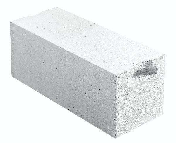 Bloc béton cellulaire poignée ENERGIE 25 25x25x62,5cm