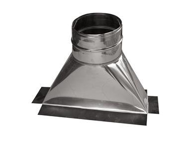 Avaloir inox Ø180mm