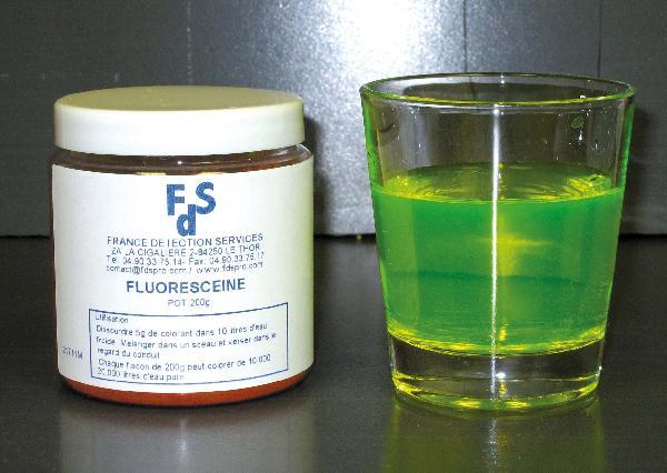 Fluorescéine pot 100g