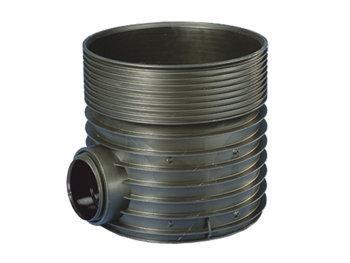 Regard PP TEGRA NF N°605 Ø600 120° H.37cm pour PVC Ø200