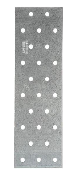 Plaque perforée 200x60mm Ep.2mm