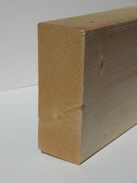 Bois massif abouté sapin/épicéa non traité 60x80mm 8,00m