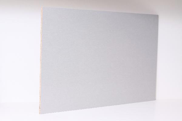 Crédence aluminium cendré 9x640mm 300cm