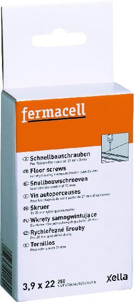 Vis plaque de plâtre autoperceuses FERMACELL Ø3,9x22mm boite 250