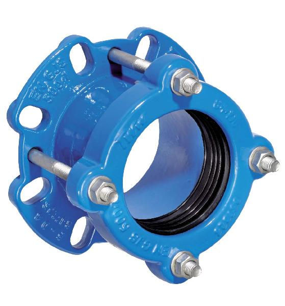 Adaptateur BGT Ø080/100 pour tuyau Ø84-106mm ISO PN10 à PN16