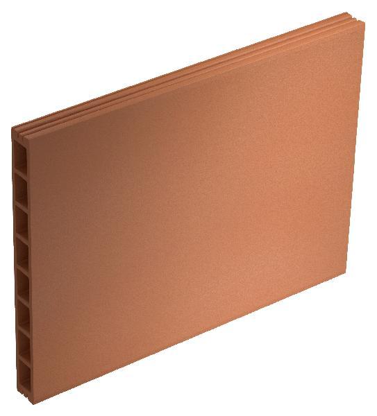 Brique terre cuite PLACBRIC 66,6x50x10cm