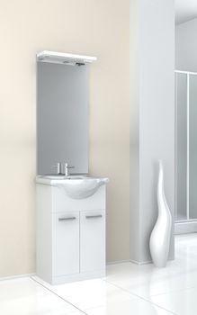Meuble salle de bain EVA blanc 55cm