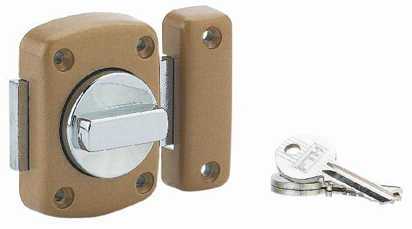 Verrou ALOUETTE 3 clés Ø35mm