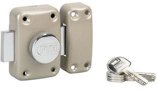 Verrou TRAFIC 6 4 clés Ø45mm