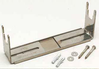 ETRIER REGLABLE 220-360MM COMPTEUR DN15-20 125 MM +VIS PLASTIQUE