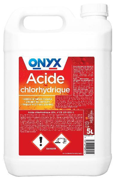 Acide chlorhydrique 23 % 5L