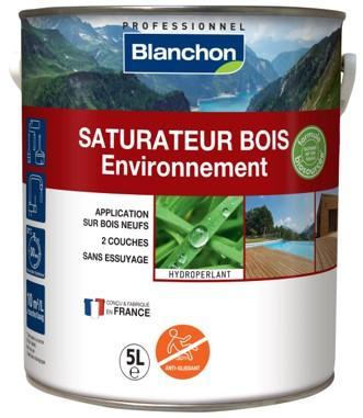 Saturateur bois extérieurs ENVIRONNEMENT phase aqueuse exotique 5L