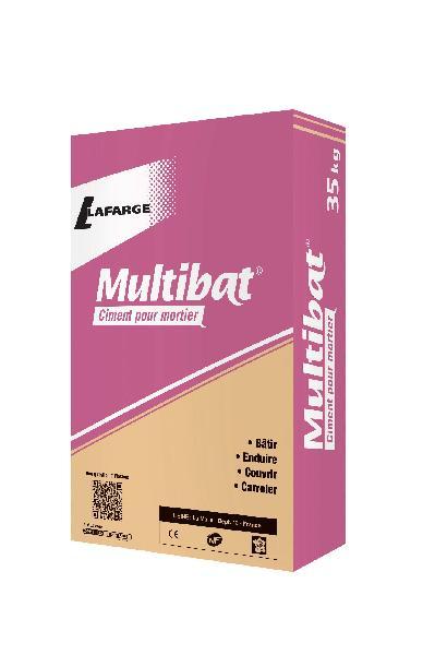 Ciment MULTIBAT MC 12,5 CE+NF sac 35kg