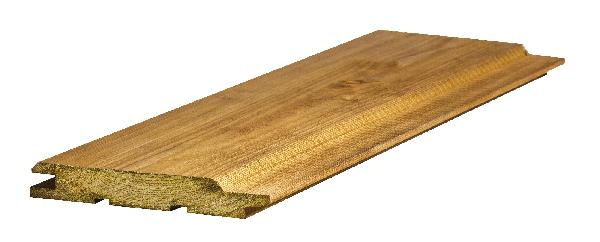 Bardage épicéa autoclave CL3 brun élégie 21x135mm 4,20m paquet 5