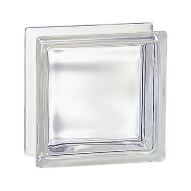 Brique de verre 198 incolore 19x19x8cm