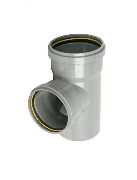 Branchement PVC assainissement CR4 Ø315x250 mâle-femelle 87°