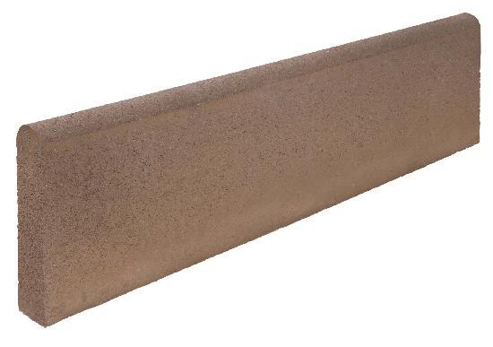 Bordure béton P2 ocre classe T 1m