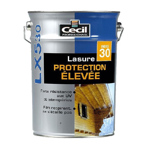 Lasure haute performance LX530+ alkyde satinée chêne clair bidon 1L
