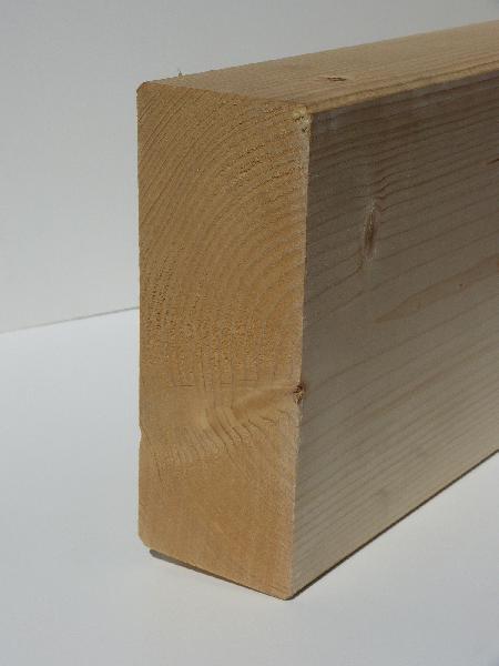 Bois massif abouté sapin/épicéa non traité 60x180mm 4,00m