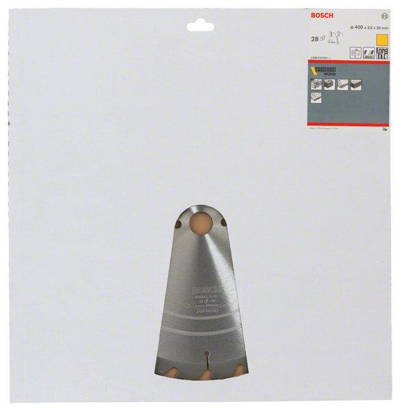 Lame de scie circulaire Ø400x30mm 28 dents CONSTRUCT WOOD