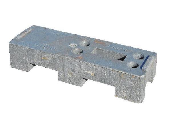 Plot palettisable ht.150mm 250mm 770mm PE recyclé 18kg