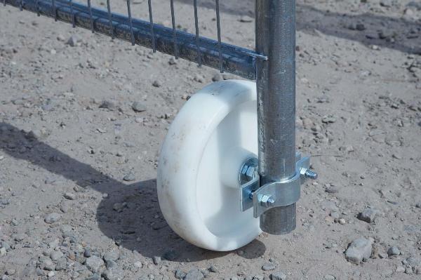 Roulettes de portail pour clôture mobile 1,2kg