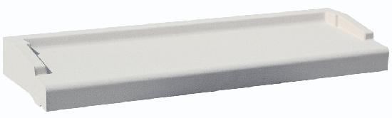 Appui nez arrondi blanc tableau :60cm 28cm