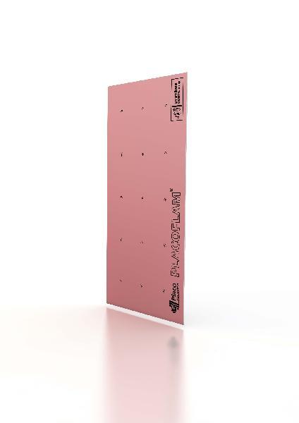 Plaque plâtre PLACOFLAM bords amincis 15mm 250x120cm