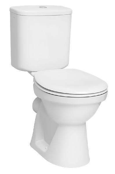 Pack WC NORMUS sortie horizontale céramique blanc 3/6L NF