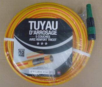 Batterie tuyau 5 couches Ø15mm 20m