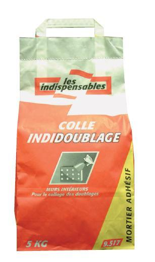 MORTIER ADHESIF INDIDOUBLAGE SAC 5KG