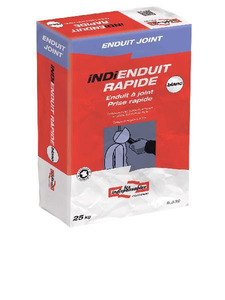 Enduit à joint prise rapide 4H INDI ENDUIT RAPIDE sac 25kg