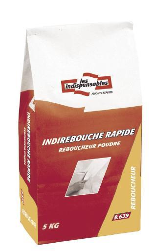 Enduit de rebouchage intérieur poudre INDI REBOUCHE RAPIDE sac 5kg