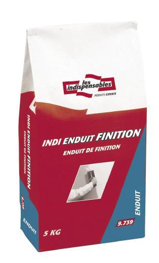 Enduit de finition intérieur poudre INDI ENDUIT FINITION sac 5kg