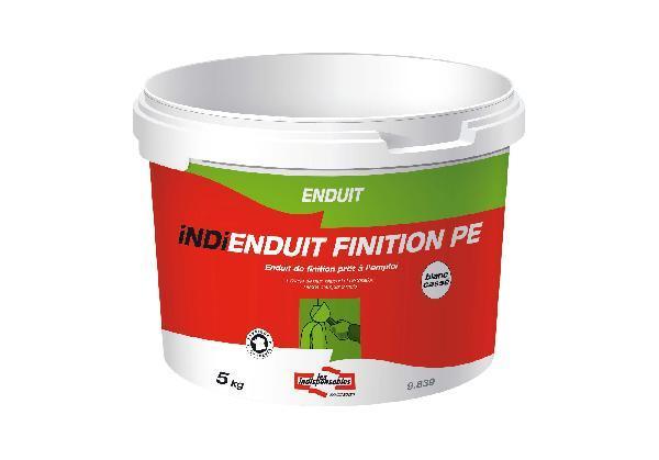 Enduit prêt à l'emploi INDI ENDUIT FINITION PE seau 5kg