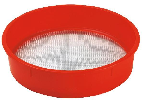 Tamis de maçon plastique toile n°14 orange SUPERCHOCK