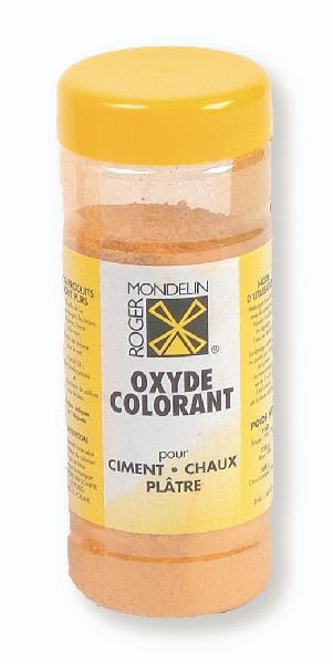 Colorant ciment jaune clair dose 500g