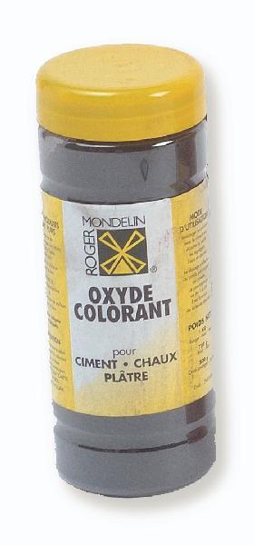 Colorant ciment noir dose 1kg