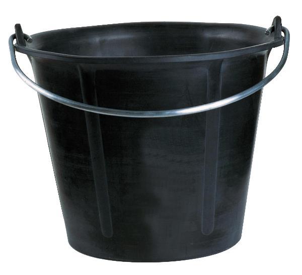 Seau de maçon prochok noir 12L