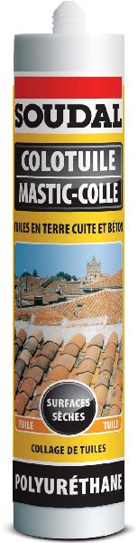 Mastic colle COLOTUILE terracotta 310ml