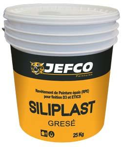 Revêtement façade SILIPLAST 2 grésé acrylique série1 25kg