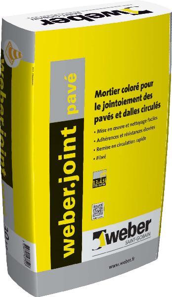 Weber joint pave gris ciment 30kg for Weber cal joint prix