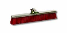 Balai usine extérieur fibres PVC 60cm rouge
