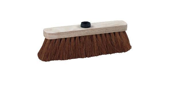 Balai pour toutes surfaces fibres coco semelle bois 29cm